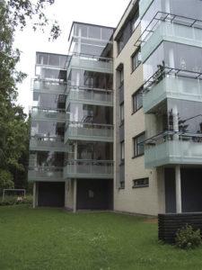Inglasning av balkonger